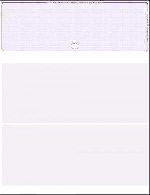 Top Purple Linen Blank Laser Check WLSTK1LNPL
