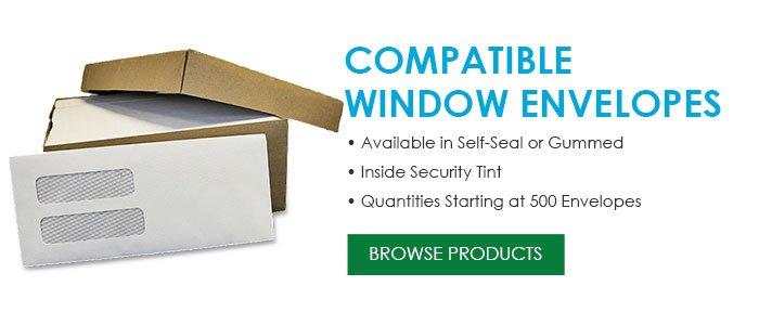 Compatible Window Envelopes