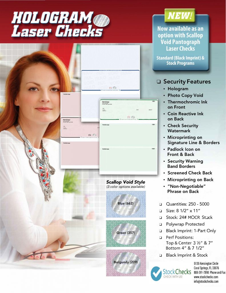 blank check paper with security features
