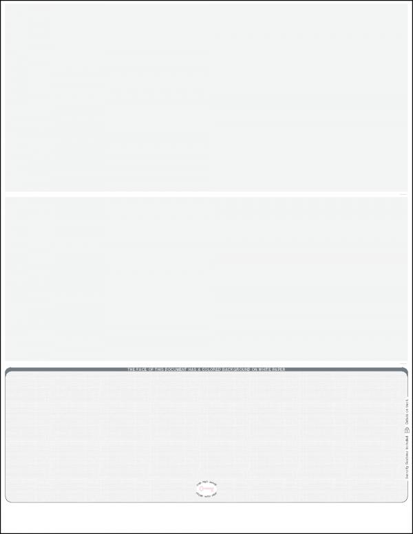 Grey linen bottom position Blank laser check