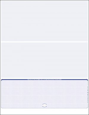Reflex Blue Linen Bottom Position Blank Laser Check