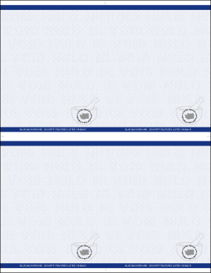 Washington RX 4up laser sheets Blue