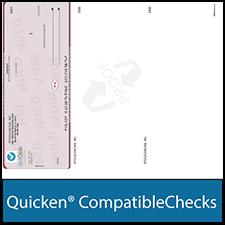 Quicken Compatible Check Paper