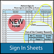 Medical Sign-In Sheets
