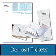 Deposit Tickets