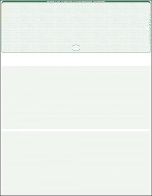 Top Green Linen blank laser check